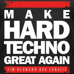 Lav Hard Techno Great Again_White - Dame Premium tanktop