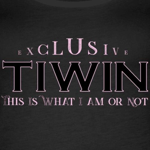 EXCLUSIVE TIWIN ROSE - Débardeur Premium Femme