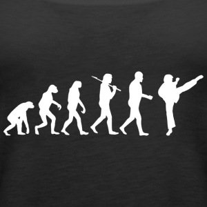 Fighting Evolution - Women's Premium Tank Top