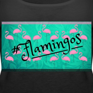 rosa Flamingos - Frauen Premium Tank Top