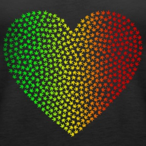 Rasta Weed Love - Women's Premium Tank Top