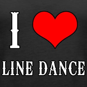I Love Line Dance - Frauen Premium Tank Top