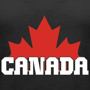 Kanada Maple Leaf - Tank top damski Premium