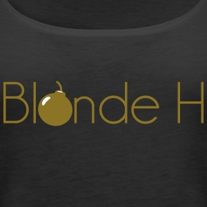 blond pm - Tank top damski Premium