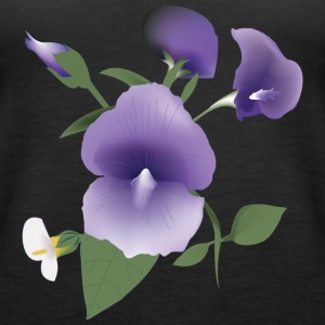 flower Lilla - Women's Premium Tank Top