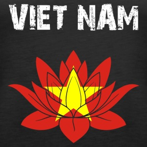 Nation design Viet Nam Lotus - Women's Premium Tank Top