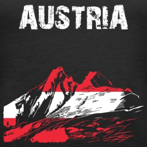 Nation-Design Austria Grossglockner - Frauen Premium Tank Top