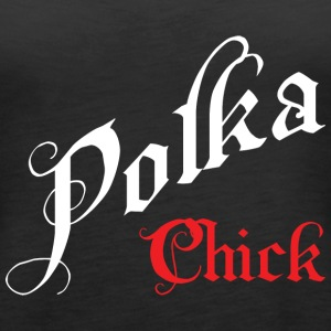Polka Chick Music Dance - Frauen Premium Tank Top
