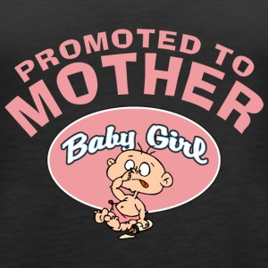 Promoted To Mother Baby Girl (CUSTOMIZE ADD DATE) - Women's Premium Tank Top