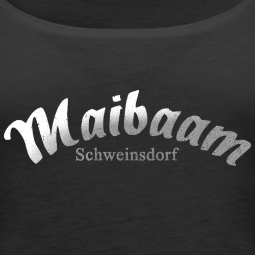 Schweinsdorf - Logo #3 - Maibaam - Frauen Premium Tank Top
