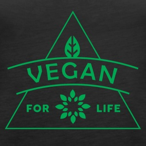 VEGAN FOR LIFE - Frauen Premium Tank Top