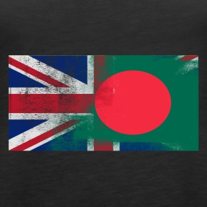 British Bangladesh Half Bangladesh Half UK Flag - Women's Premium Tank Top