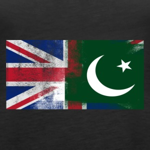British Pakistani Half Pakistan Half UK Flag - Women's Premium Tank Top