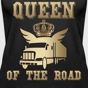 Queen of the Road Queen of the Road! - Dame Premium tanktop