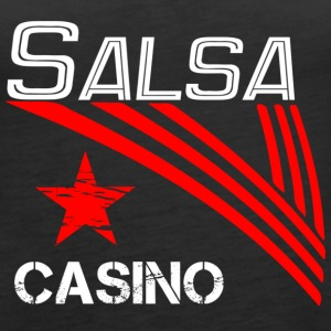 Salsa Casino white - Pro Dance Edition - Women's Premium Tank Top