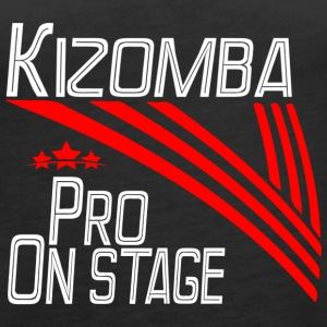 Kizomba Pro - On Stage white - Pro Dance Edition - Frauen Premium Tank Top