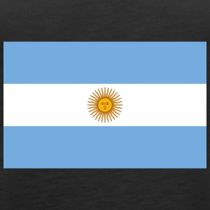 National Flag Of Argentina - Women's Premium Tank Top