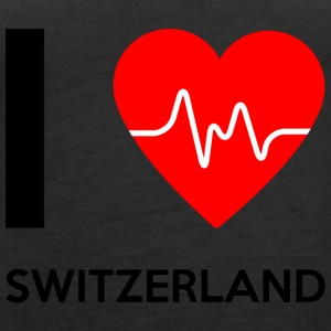 I Love Switzerland - I Love Switzerland - Women's Premium Tank Top