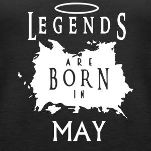 Legend May birthday - Women's Premium Tank Top