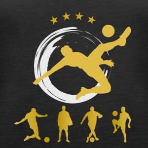 Soccer Goal Soccer Star World Champion Ball dynamis - Women's Premium Tank Top