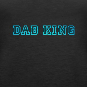 dab dabbing King Football touchdown cool fun sport - Women's Premium Tank Top