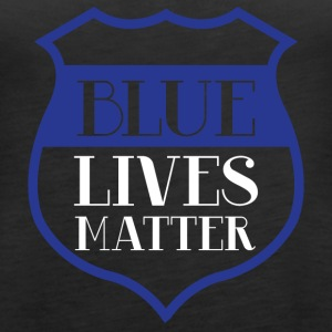 Polizei: Blue Lives Matter - Frauen Premium Tank Top