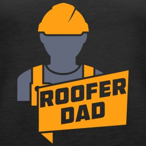 Roofer Dad - Women's Premium Tank Top