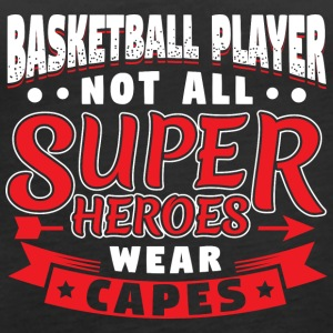 NOT ALL SUPERHEROES WEARCAPES - BASKETBALL - Women's Premium Tank Top