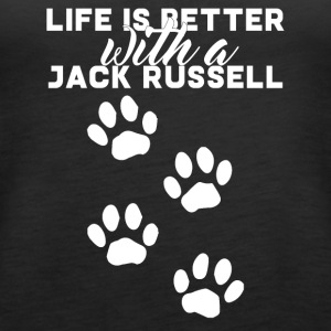 Hund / Jack Russell: Life Is Better With A Jack - Frauen Premium Tank Top
