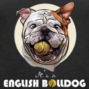 ENGLISH BULLDOG balldog - Women's Premium Tank Top