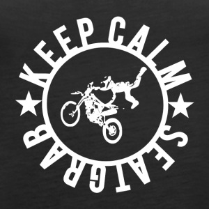 KEEPCALM and SEATGRAB - Women's Premium Tank Top