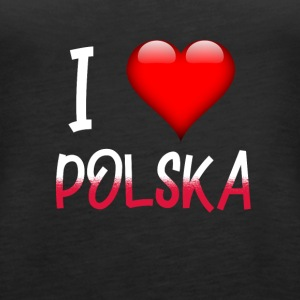 I Love Polska - Frauen Premium Tank Top
