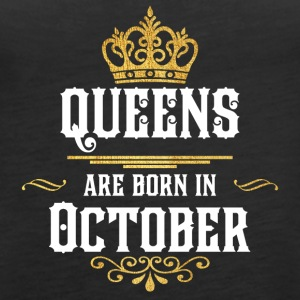 Queens Happy Birthday! Oktober! - Vrouwen Premium tank top
