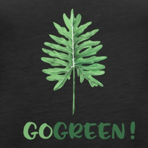 GO GREEN! - Premium singlet for kvinner