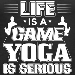 YOGA LIFE IS A GAME - Frauen Premium Tank Top