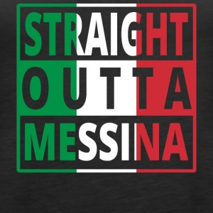 Straight Outta Italia Italia Messina - Premium singlet for kvinner