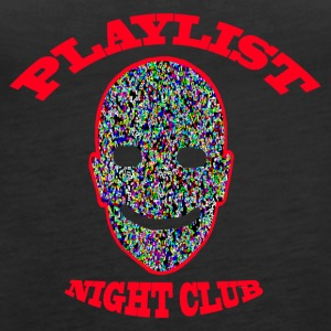 Playlist Club Smiley - Frauen Premium Tank Top