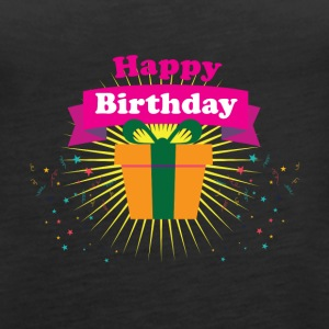 Happy Birthday - Frauen Premium Tank Top