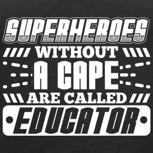 SUPERHEROES EDUCATOR - Women's Premium Tank Top