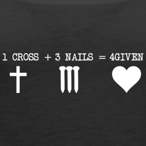 CROSS 1 + 3 + NAILS 4GIVEN - Dame Premium tanktop