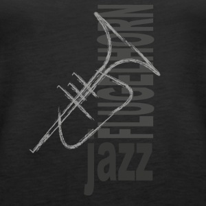 Jazz Flugelhorn - Women's Premium Tank Top