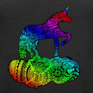 Enchanted Unicorn Multicolor - Dame Premium tanktop