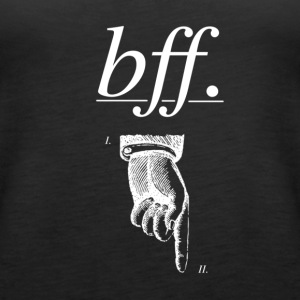 best friend forever - Frauen Premium Tank Top