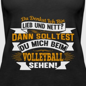 SolltestVolleyball - Frauen Premium Tank Top