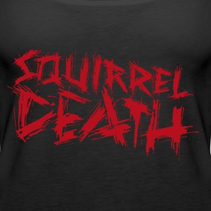 Squirrel DEATH - Logo rød - Premium singlet for kvinner