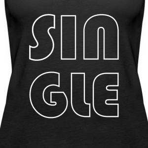 single - Vrouwen Premium tank top