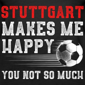 MAKES ME HAPPY Stuttgart - Frauen Premium Tank Top