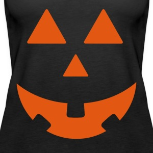 Halloween Pumpkin Design - Premium singlet for kvinner