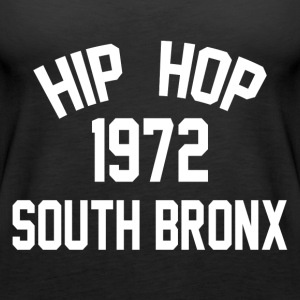 Hip Hop South Bronx 1972 - Premiumtanktopp dam