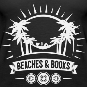 Reading Retro Beach - Canotta premium da donna
